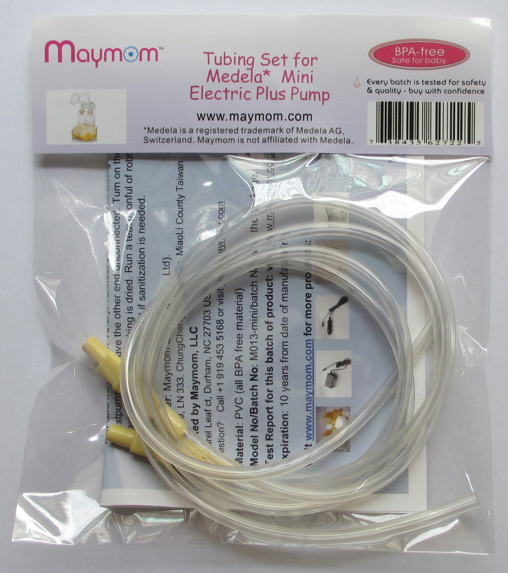 Maymom® Tubing for Medela DoubleEase, Double Select, Mini Electric Plus Pumps, 2/pack, 200 packs per case